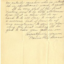 Image of Gross letter, p.2