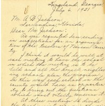 Image of Gross letter, p.1