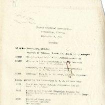 Image of Sept. 1931 Program