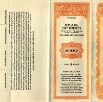Image of 1948 Fernandina Port Authority Toll Road Revenue Bond - Bond