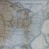 Image of Map of The United States of America 1838 - Map