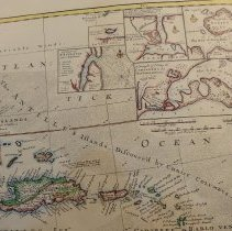Image of 1732 Herman Moll map of the West Indies