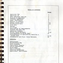 Image of Appraisal report 1987