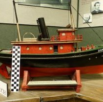 "Image of Tugboat ""Dandy"" - Model"