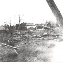 Image of Storm damaged homes - Print, Photographic