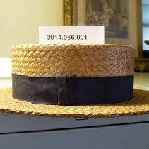 Image of Jackie Delaney's hat - Hat, Straw
