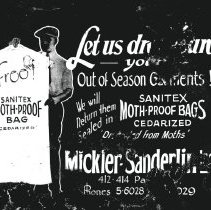 Image of Dry Cleaners ad - Print, Photographic