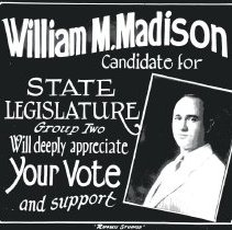 Image of Madison for State Legislature - Print, Photographic