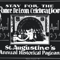 Image of Ponce DeLeon Celebration in St. Augustine's Annual Historical Pageant - Print, Photographic