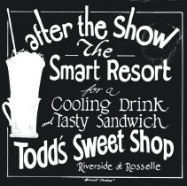 Image of Todd's Sweet Shop - Print, Photographic