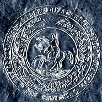 Image of Imprint of the Great Seal of the Confederacy - Seal