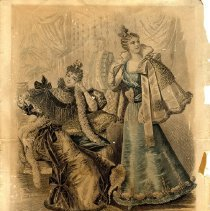 Image of Fashion plates - Print, Photographic