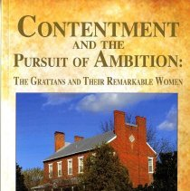 Image of Contentment and the pursuit of ambition:  The Grattans and their remarkable women - Book