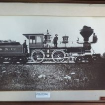 Image of FR&N Engine Number 46, 4-4-0 - Print, Photographic