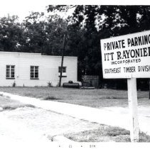 Image of ITT Rayonier private parking - Print, Photographic