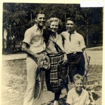 Image of Billy, Laura and Tommy and Billy J. - Print, Photographic