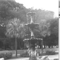 Image of County Courthouse Fountain - Print, Photographic
