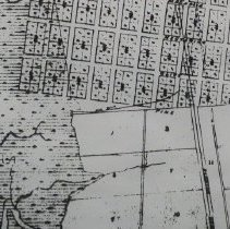 Image of 1887 map of Fernandina and Ocean City