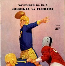 Image of Georgia vs Florida (Football program) - Program