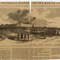 "Image of Newspaper: Leslie's Illustrated, ""Pictorial History of The War of 1861"" - Newspaper"