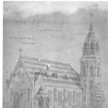 Image of St. Peter's Church rendering - Print, Photographic