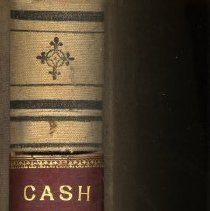 Image of American Warehouse Co. Cash Book Cover