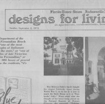 Image of Article on Historic Homes in Fernandina