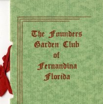 Image of The Founders Garden Club of Fernandina Florida - Directory