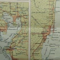 Image of A map of Florida 1930