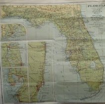 Image of A map of Florida 1930 - Map