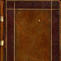 Image of Sheriff's Fee Book, Nassau Co., Florida, 1903 to 1908. - Ledger