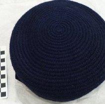Image of 1940's Black Beret Hat - Beret