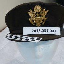 Image of WW II U S Army Nurse dress hat - Hat