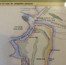 Amelia Island Florida Map.Plan Of Amelia Island In East Florida Map