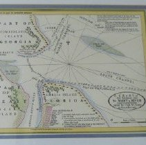 Image of A Chart of the entrance into St. Mary's River - Map