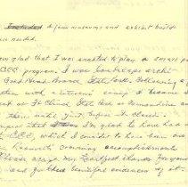 Image of Page 2,  C.C.C. reunion dinner speech manuscript