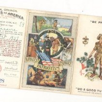 Image of Lasserre Boy Scout Cards