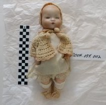 Image of 9 Inch Doll, 1920's - Doll