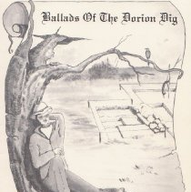 "Image of Cover of ""Ballads of The Dorion Dig"
