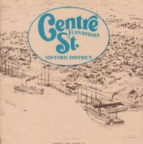 Image of Centre St. Fernandina Historic District - Guidebook