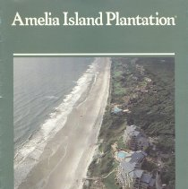 Image of Promotional brochure for Amelia Island Plantation ca. 1980