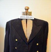Image of Lasserre dress blue jacket, enlisted