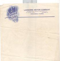 Image of Lasserre Ford Dealer letterhead