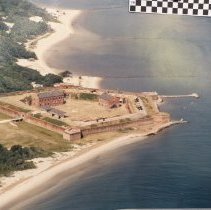 Image of Fort Clinch Aerial View - Photograph