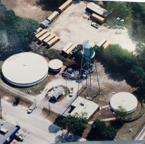 Image of Water treatment plant and water tower 1999 - Photograph