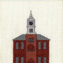 Image of Nassau County Courthouse - Cross-Stitch
