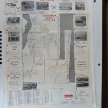 Image of 1959 Map of Fernandina Beach by the Chamber of Commerce
