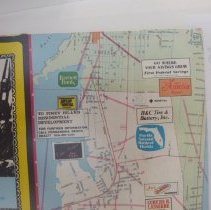 Image of 1980 Map of Fernandina Beach by the Chamber of Commerce
