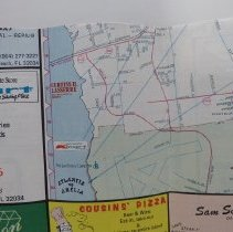 Image of 1987 Map of Fernandina Beach by the Chamber of Commerce