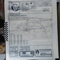 Image of 1988 Map of Fernandina Beach by the Chamber of Commerce